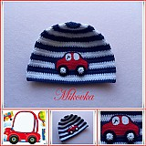 Detské čiapky - ciapka auto - 3782904_