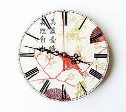 Hodiny - Nástenné hodiny - 3790353_