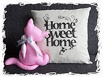 - Home Sweet Home obliečka na vankúš - 3790247_