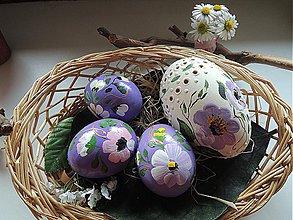 Dekorácie - Kolekcia fialových kraslíc - 3789085_
