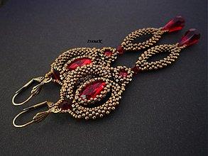 Náušnice - Indian dance - 3789495_