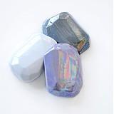 Odznaky/Brošne - Brošňa krystalix-fialová - 3788177_