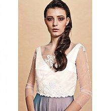 Šaty - Svadobné šaty s čipkou - 3791068_