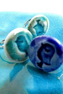 Prstene - prsteň  modrý vták - 3793542_