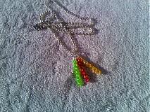 Náhrdelníky - Ovocníčkovia - náhrdelník. - 3797373_