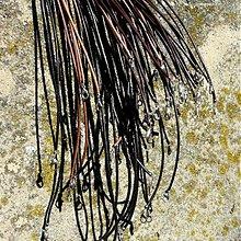 Suroviny - Koža s karabínkou - 3797300_