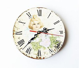 Hodiny - Nástenné hodiny - 3798102_