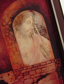 Obrazy - vzkriesenie - olejomaľba v ráme - 3796844_