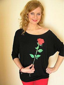 Tričká - Rose Red - 3796989_