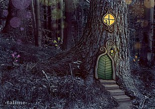 Grafika - Poď, vezmem ťa do lesa... - 3796712_