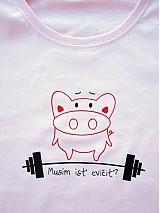 - Tričko - Musím ísť cvičiť? - 3799682_