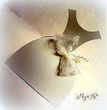 Darčeky pre svadobčanov - Krabička: Bride - 3800931_