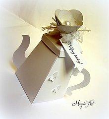 Darčeky pre svadobčanov - Krabička: Nápoj lásky - 3801181_