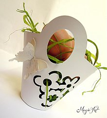Dekorácie - Krabička: Košíček - 3801217_