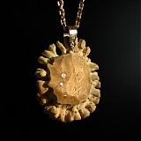 Náhrdelníky - Amulet šťastia - 3804422_
