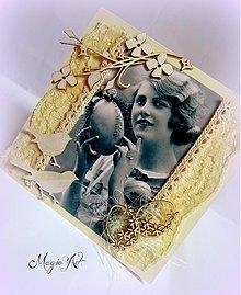 Papiernictvo - Babičkine spomienky na Veľkú Noc - 3803843_