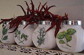 Nádoby - Koreničky na bylinky -sada 4 ks - 3806738_
