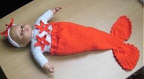 Detské súpravy - Morská panna - 3807344_