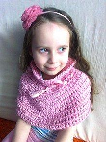 Detské oblečenie - Detské pončo ... Little Princess - 3809974_