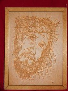 Obrazy - Gravirovany obraz nabožensky motív 2 - 3809430_