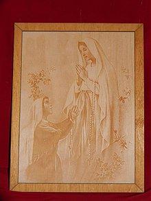 Kresby - Gravirovany obraz nabožensky motív 3 - 3809444_