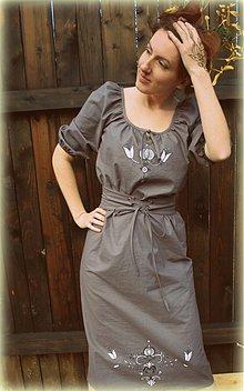 Šaty - Sivôtky - 3814498_