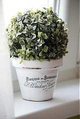 Nádoby - Kvetináč Vintage - 3811470_