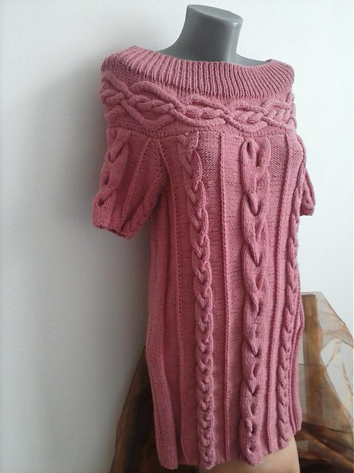 4f68c8d29f9 Pletene šaty   terai - SAShE.sk - Handmade Šaty
