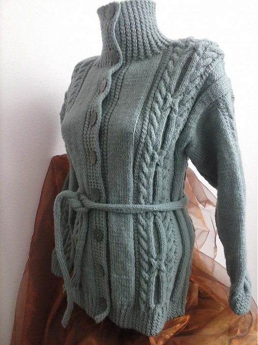 40596cb2602 Dámsky sveter skladom   terai - SAShE.sk - Handmade Svetre Pulóvre