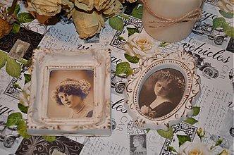 Dekorácie - Vintage obrázky - 3818292_
