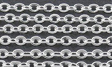 Komponenty - RET4352, RETIAZKA 2.5x2mm STRIEBRO /1m - 3815537_