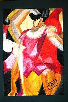 Kresby - tanečnica rozšafnica - 3816347_