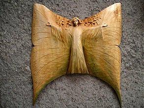 Dekorácie - Anjel motýľ - 3821778_