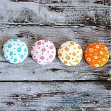 - VÝPREDAJ!!! Buttony plné kvetov 38 mm - 3821449_