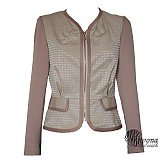 Kabáty - Sakový kabátik v púdrovej farbe  SKLADOm - 3820577_