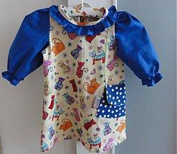 Detské oblečenie - Spring girl dress with a bag - 3825534_