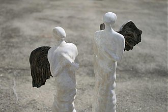 Socha - Anjel alebo ako v nebi tak aj na zemi - 3824422_