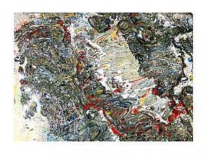 Obrazy - Abstrakcia XIV - 3825391_