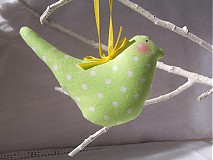 Dekorácie - Vtáčik Letáčik - 3826526_