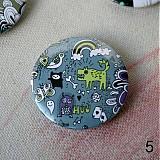 Odznaky/Brošne - Doodle buttony (37mm) - 3827897_