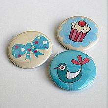 Odznaky/Brošne - Sweety - 3829239_