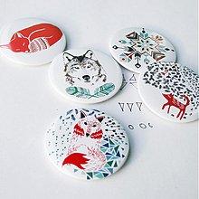 Odznaky/Brošne - Navajo zvieracia séria (58mm) - 3829322_