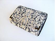 Peňaženky - V něžném krajkoví - menší i na karty - 3830565_