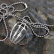 Náhrdelníky - Náhrdelník Trilobit z nerezu - 3830176_