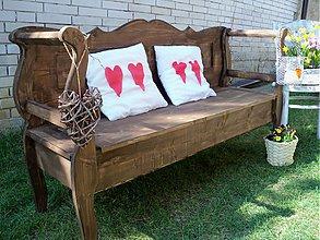 Nábytok - vidiecka oddychová lavička - 3831647_