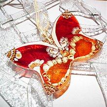 Dekorácie - Motýľ či Sen - 3833998_