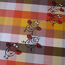 Úžitkový textil - ROZPUSTILÉ BERUŠKY - napron 100x100 - 3830996_