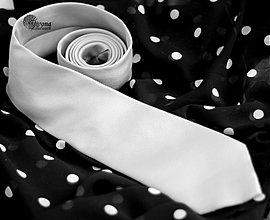 Doplnky - Pánska kravata k spoločenský šatám Dyona - 3831306_