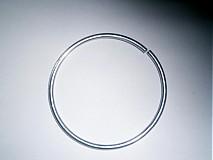 Iný materiál - Obruč kruh (A)- 7cm x 0,3cm-  1ks - 3837084_