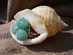 Prstene - Karibský azurový prstínek - 3835466_